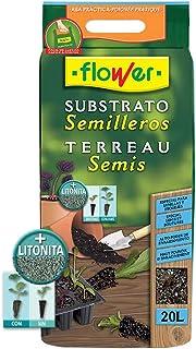comprar comparacion Flower 80049 80049-Substrato semilleros, 20 l, No aplica, 30x5x55 cm