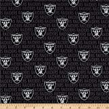 Traditions NFL Cotton Broadcloth Oakland Raiders...