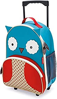 Skip Hop Kids Luggage With Wheels, Owl