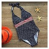 WanXingY 7-12 Jahre Kinder Dot Print Girls One Piece Badeanzug Mädchen Swimwear 2020 Maillot DE BAIN Femme Niedlichen Baby Badenanzug 14 (Farbe : 1, Größe : 11 Years)