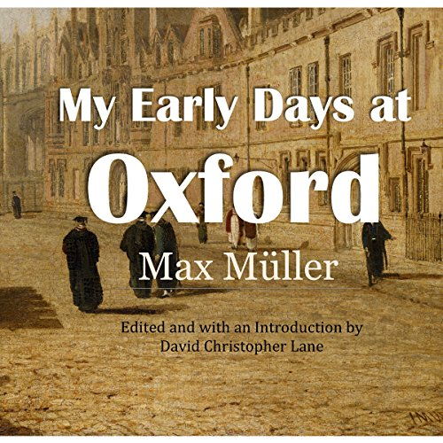 My Early Days at Oxford audiobook cover art