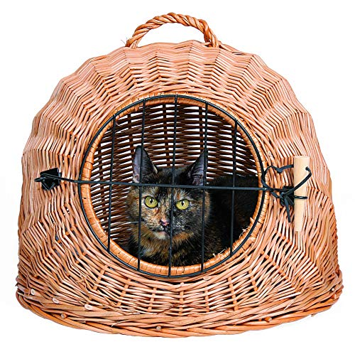 Trixie 2870 Korbhöhle mit Gitter, ø 45 cm, braun