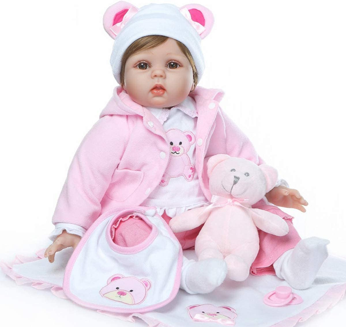 TERABITHIA 22inch Real store Life Baby Toys Dolls Outlet SALE Reborn Babies S Soft