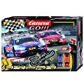 Carrera GO!!! 62480 DTM Master Class Electric Powered Slot Car Racing Kids Toy Race Track Set Includes 2 Hand Controllers and 2 DTM Cars in 1:43 Scale