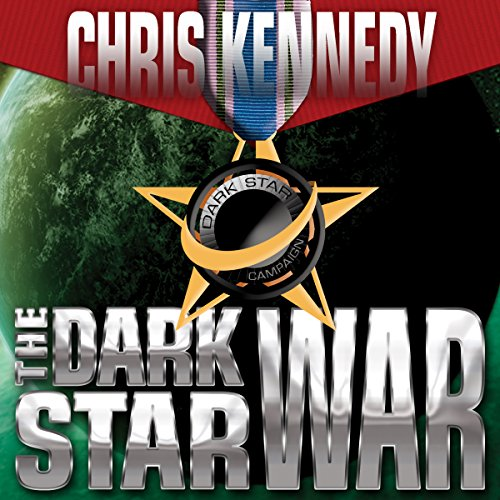 The Dark Star War audiobook cover art