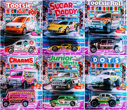 Matchbox 2020 Candy Theme Full 6 Car Set
