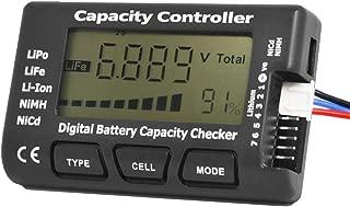 Capacity Controller CELLMeter-7 Digital Battery Capacity Checker Battery Balancer Tester LCD for LiPo/Life/Li-ion/NiCd/NiMH