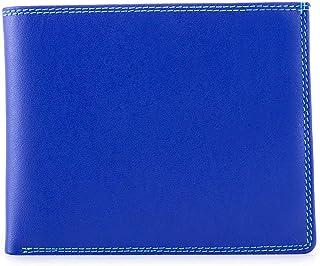 mywalit Men's 8C/C Large Flap Wallet W/Britelite & Rfid Blue