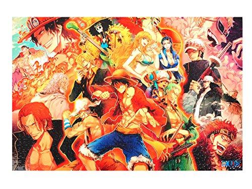 CoolChange One Piece Puzzle, 1000 Teile, Motiv: Ruffy's Abenteuer