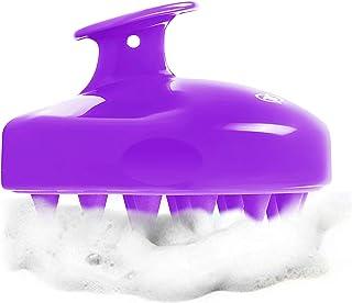 Shampoo Brush Hair Scalp Massager, FReatech [Wet & Dry] Hair Scalp Massage Brush Soft Silicone Comb for Men, Women, Kids a...