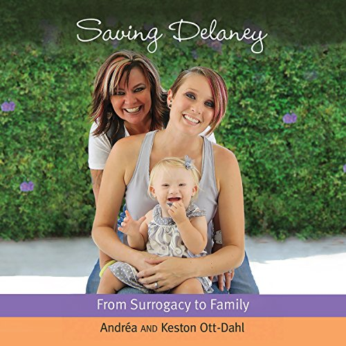 Saving Delaney audiobook cover art