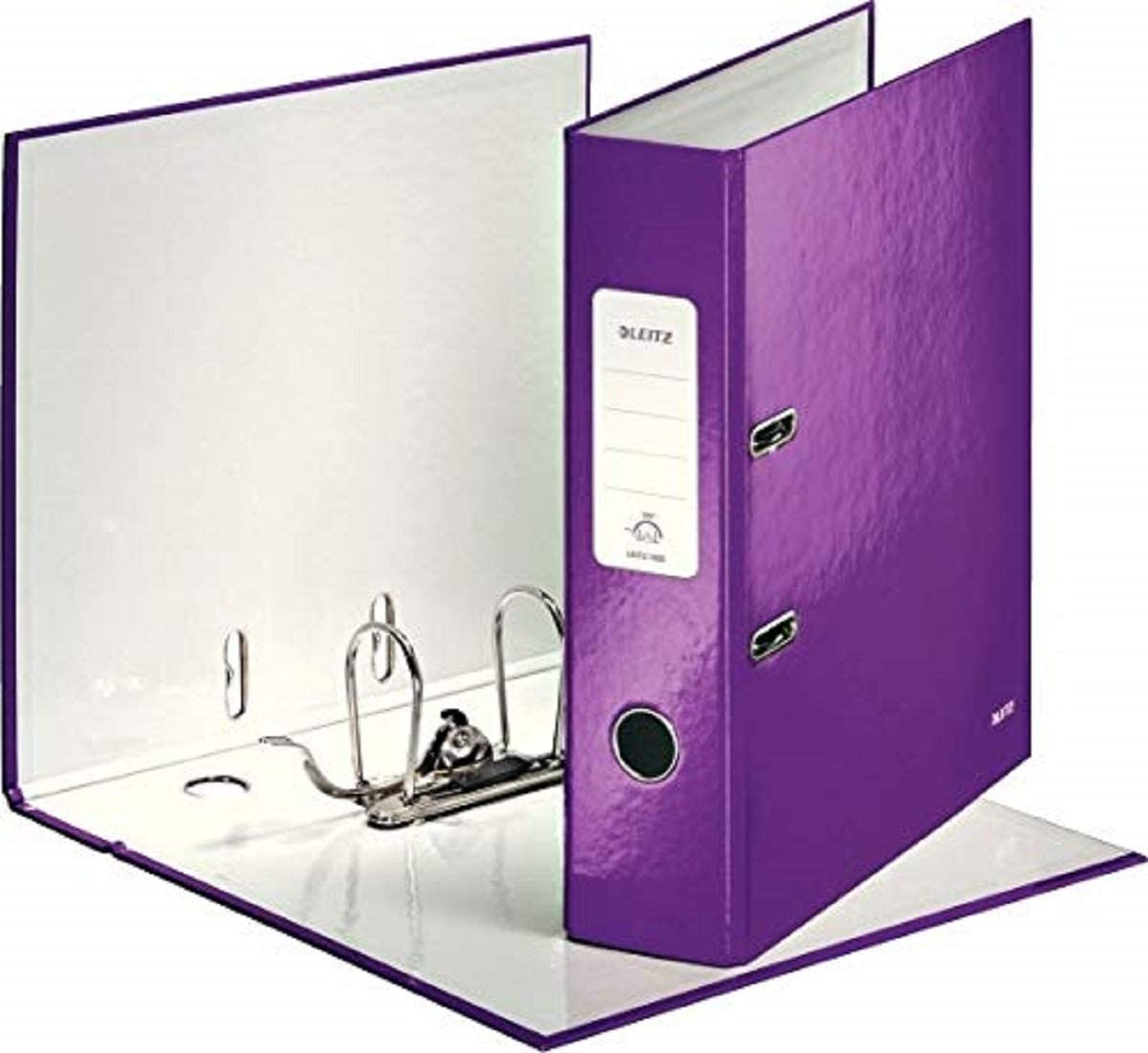 Leitz 10050062 A4 80 mm Wow Los Soldering Angeles Mall Files - Purple Lever 180 Arch