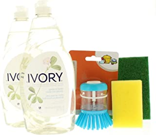 Ivory Concentrated Dishwashing Liquid, Classic Scent 24 Fl. Oz Assorted Dishwashing Bundle