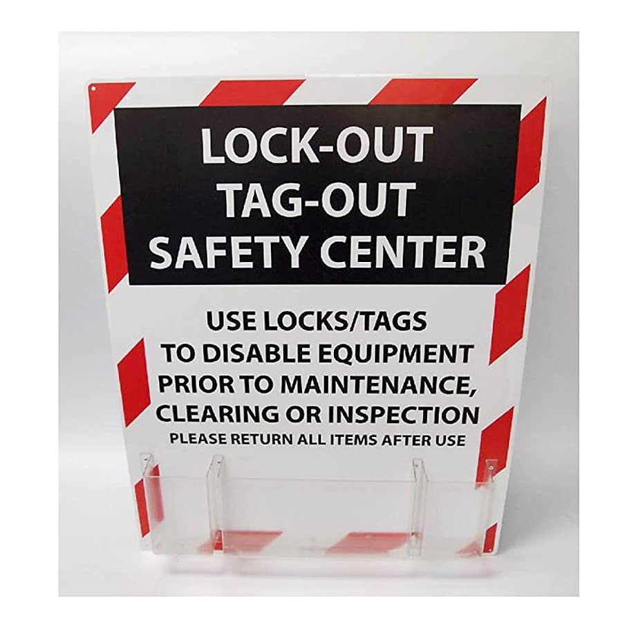 NMC Loto Polystyrene Lockout Center, 24