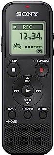 Sony ICD-PX370, Grabadora De Voz Digital, USB, Si, estándar, Negro