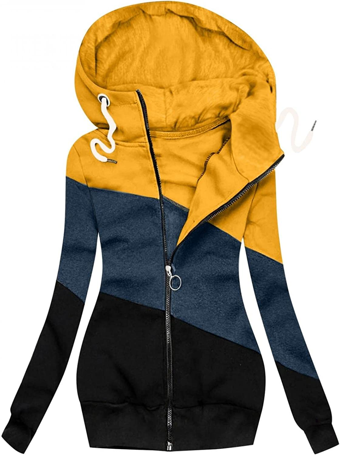 Women's Special price Hooded Jacket Coat Cotton Zipper Pocke famous Patchwork Jackets