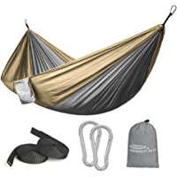 Forbidden Road Camping Portable Parachute Hammock for Outdoor Hiking