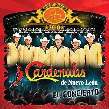 Vive Grupero El Concierto/Cardenales De Nuevo León (Live México D.F/2010)