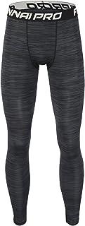 Pantalones Largos Tight de Comprensión para Hombre Mallas Largas de Deportivos Baselayer Secado Rápido para Ejercicio Gimnasio Entrenamiento Cruzado Correr Baloncesto Jogging