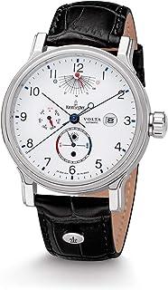 Kronsegler - Volta - Reloj automático de acero blanco