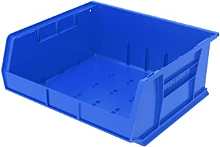 Akro-Mils 30250 Plastic Storage Stacking AkroBin, 15 16 7-Inch, Blue, Case of 6, Inch Inch by 7-Inch
