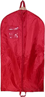 Nylon Garment Bag with Double Handles, Red