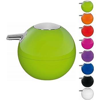 6,5x6,5x12,2 Resinas termopl/ásticas Verde Gedy Seventy Vaso