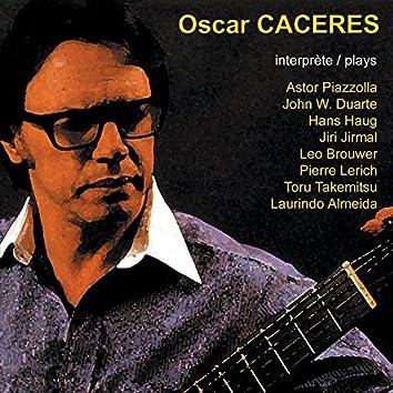 Oscar Caceres: Récital de guitare