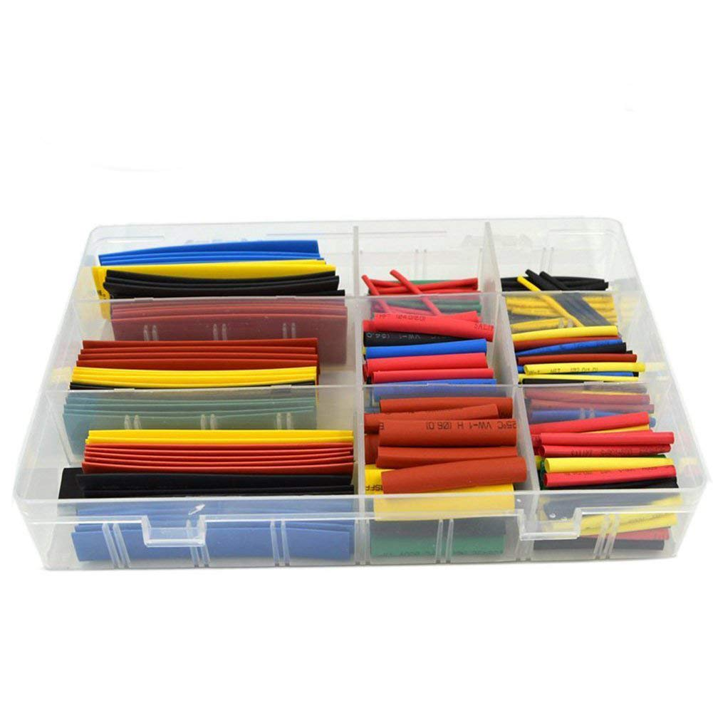 HiLetgo 328PCS Heat Shrink Cheap mail order shopping Tubing NEW before selling ☆ Wrap 2:1Wire Assortment Cable