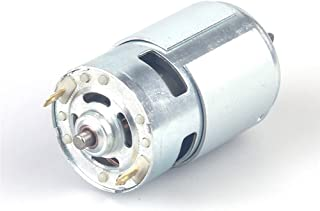 775 High Speed DC Motor Ball, 12V-24V 2000-15000 RPM, High Power Low Noise Motor for DIY Hobby Toy Cars Remote Control