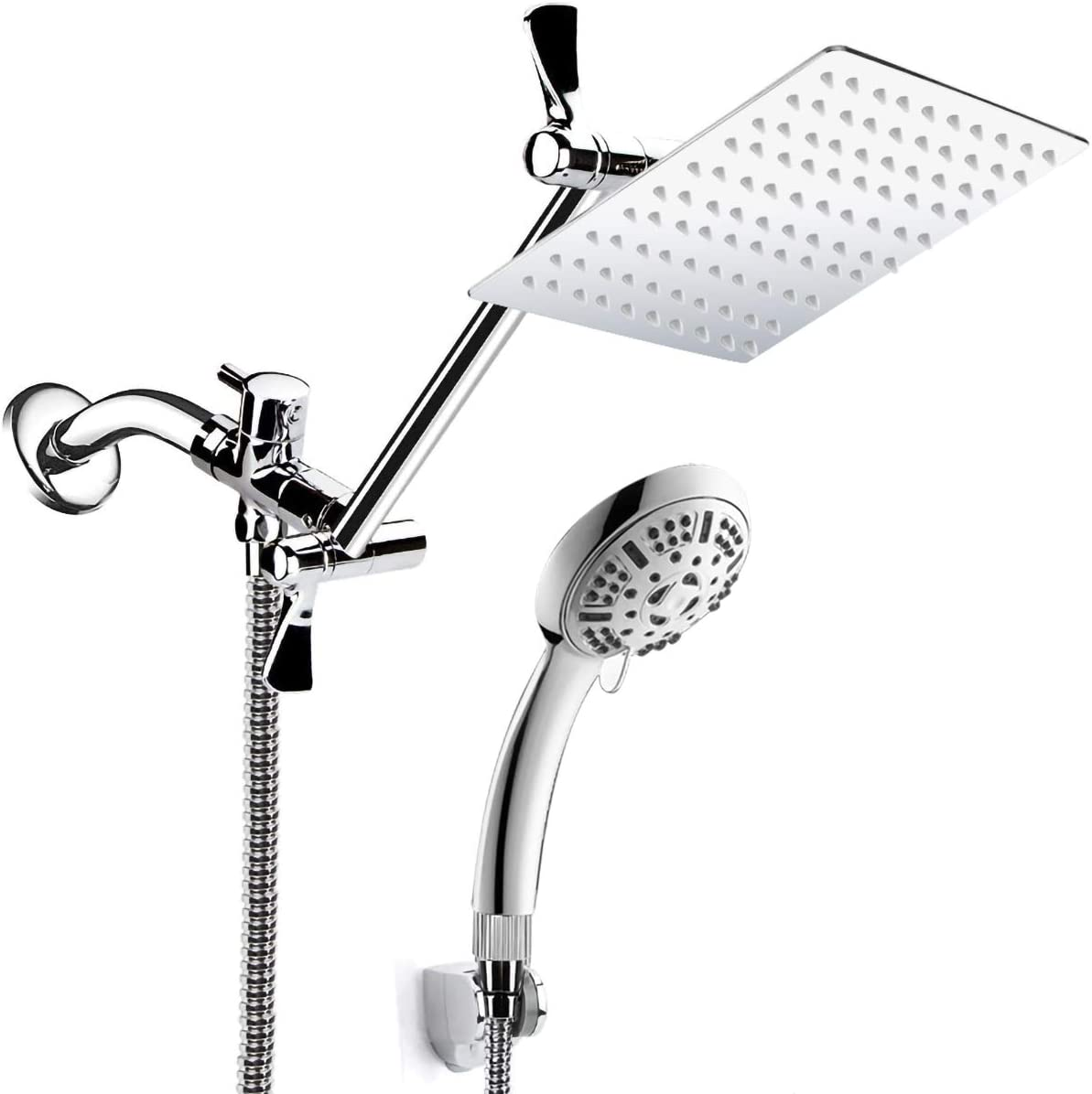 Buy Shower Head Combo, 20'' High Pressure Rain Shower Head with 20 ...