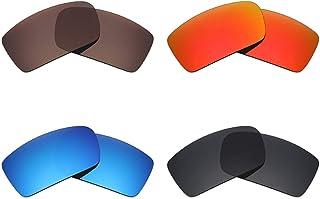 1b082ef18a Mryok - Lentes polarizadas de repuesto para gafas de sol Oakley Gascan (4  pares,