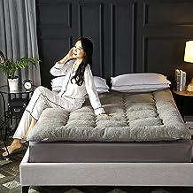 Plush Solid Color Floor Mattress,Soft Japanese Thick Futon Mattresses,Non-Slip Sleeping Tatami Floor Mat,Dormitory Foldabl...