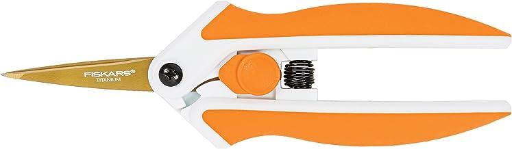 Fiskars 5 Inch Titanium Micro-Tip Easy Action Scissors
