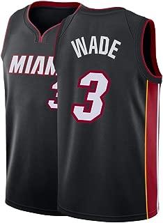 Kllnie Men's Wade Jersey 3 Miami Adult Basketball City Dwyane