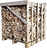 Buche 33cm RM Box Brennholz trocken + 1 Netz Anzündholz Gratis Kaminholz ofenfertig Holz Feuerholz Scheitholz Kaminfeuer Lagerfeuer Pizzaofen 1RM=ca.1,2 Ster=ca.1,5m³-SRM=ca.450kg Energie Kienbacher