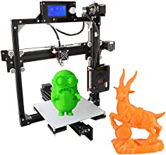 Anet A2 3D Printer Kits High Precision Desktop DIY Self Assembly LCD Screen Aluminum Alloy Frame Reprap i3 with 8GB SD Card Printing Size 220220220mm Support ABS/PLA/HIP/PP/Wood Filament