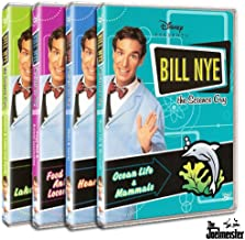 Bill Nye the Science Guy Collection Three (Deserts & Lakes and Ponds, Food Web & Animal Locomotion, Heart & Genes, Ocean Life & Mammals)