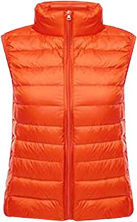XFentech Women Ladies Girls Ultralight Down Vest Body Warmer Sleeveless Gilet