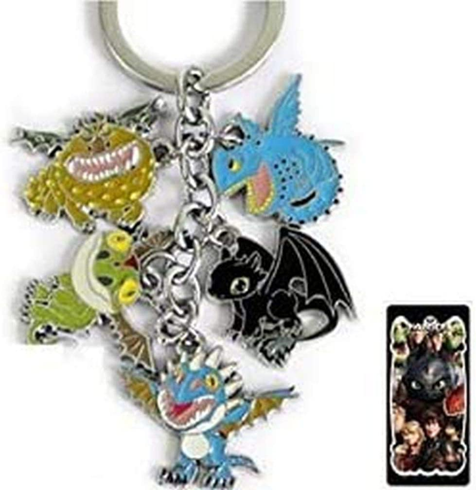 How to Train Your Dragon Metal in 25% OFF 5 1 Keychain Charm Rapid rise