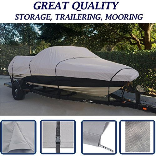 SBU Grey, Storage, Travel, Mooring Boat Cover for Yamaha LS 2000 LS2000 XP 1999 2000 2001 2002 2003 Jet
