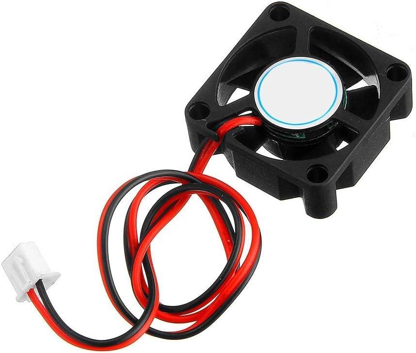 DJY-JY 30x30x10mm pequeño ventilador de enfriamiento, enfriador de impresora 3D (DC 12V) Longitud: 50CM