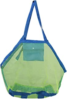 Laundry Tote Mesh Beach Bag for Outdoor Swim Pool Childrens and Kids Toys - Extra Large -Wanyne