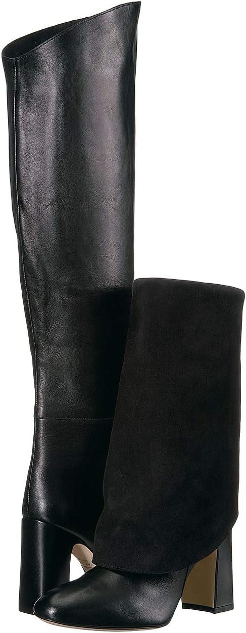 Black Dress Nappa/Suede