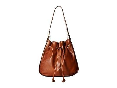 Frye Ilana Hobo (Cognac) Hobo Handbags