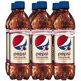 Pepsi, Cherry Vanilla, 16.9 Fl Oz (Pack of 6)