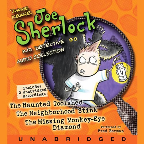 Joe Sherlock, Kid Detective Audio Collection audiobook cover art