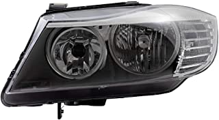 BROCK Headlight Replacement for 2009-2011 BMW 3 Series E90 Drivers Halogen Headlamp Assembly 63117202577 63 11 7 202 577