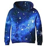 SAYM Big Girls Galaxy Fleece Pockets Sweatshirts Jacket Pullover HoodiesSAYM Big Girls Galaxy Fleece Pockets Sweatshirts Jacket P… by SAYM