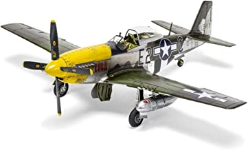 Airfix A05138 North American P51-D Mustang (Filletless Tails), Assorted